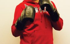 Lifelong fighter: Nolasea wins debut bout