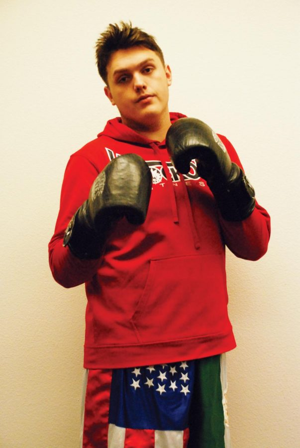 Senior+Donnovan+Nolasea+won+his+first+professional+boxing+match+on+Feb.+21