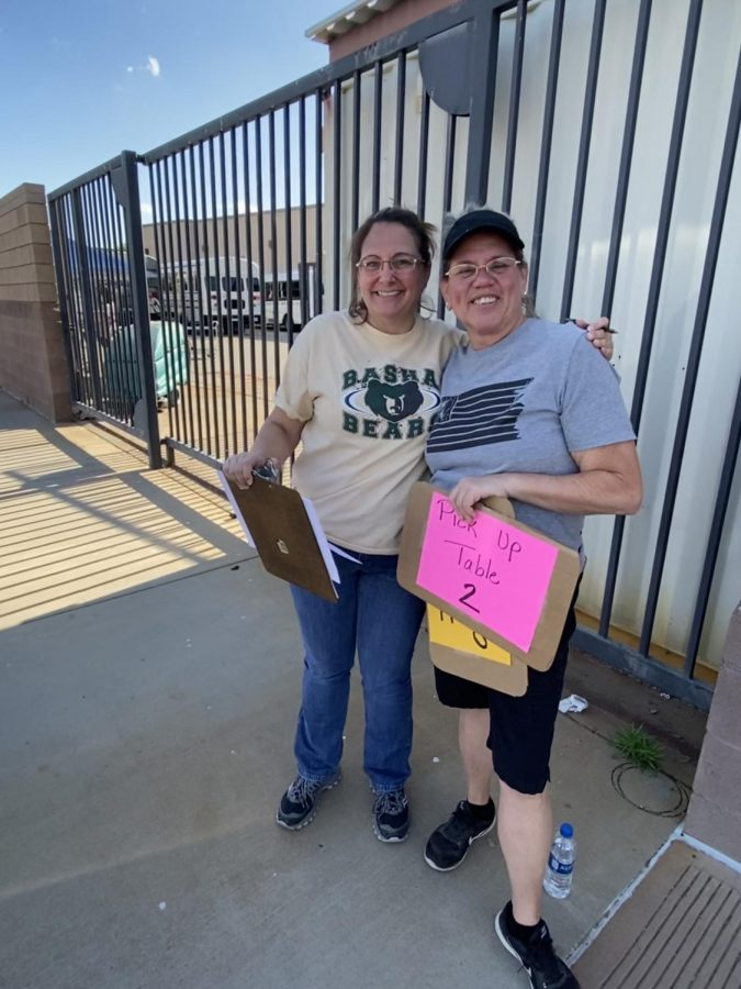 Directors helping out at CUSD curbside meals