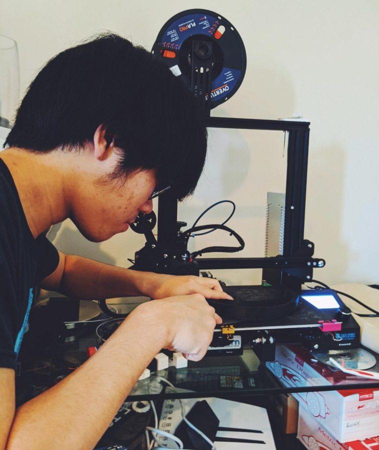 Senior Nathaniel Taing