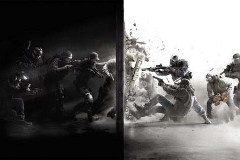 Rainbow Six Siege is a competitive online first person shooter game.