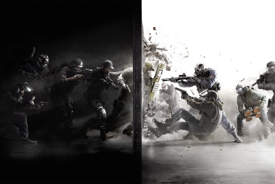 Rainbow+Six+Siege+is+a+competitive+online+first+person+shooter+game.+
