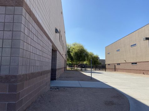PHS stands empty now, but on a normal school day it is packed with students