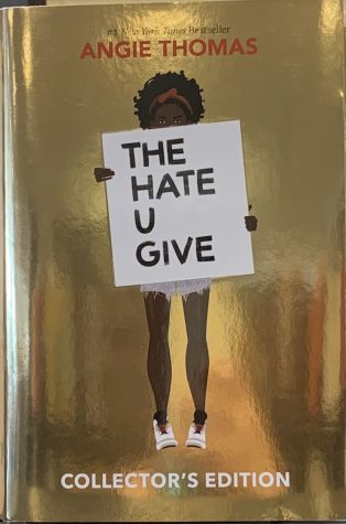 """The Hate U Give"" book cover."