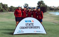 Girls golf at State Championship