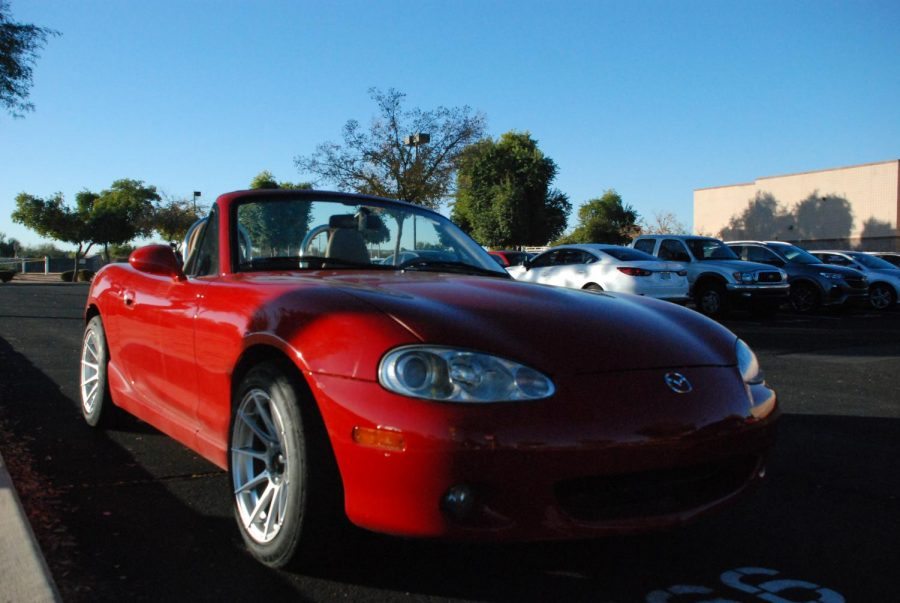 William Policastro's 2001 NB Miata