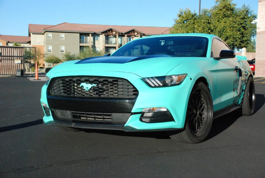 Alexander Nguyen's V6 Mustang
