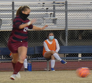Junior, Jae Pallas steps up to score. Pallas is a new player this year, and coming from the U.S. National Team development, she is loaded with potential.
