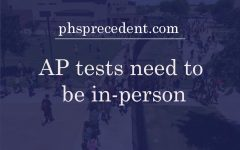 AP tests needs to be in-person