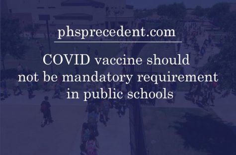 The question of whether or not schools should make in needed to be COVID-19 vaccinated to attend