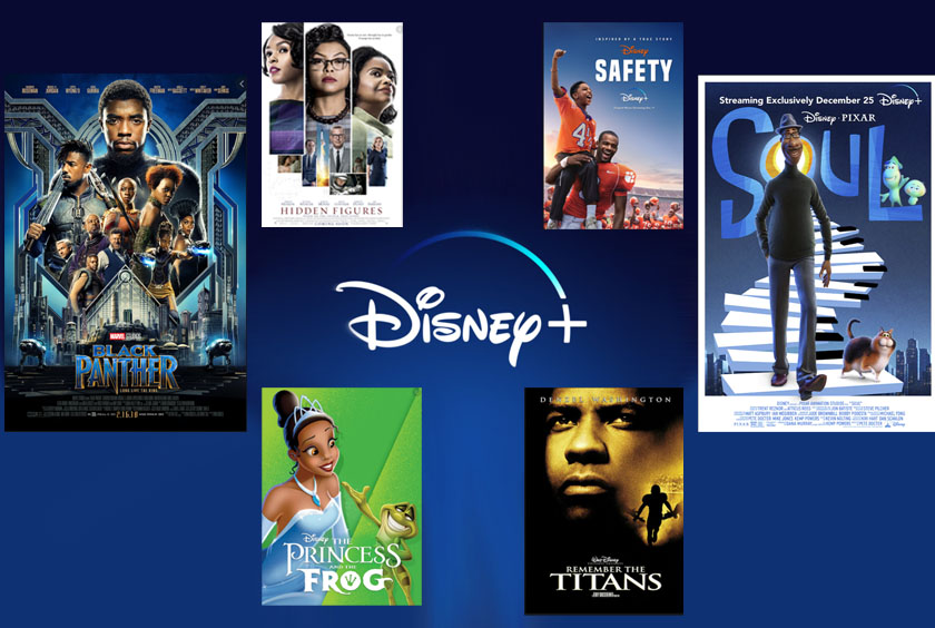 Disney+ has a large array of Black History movies. Black Panther is a high action movie that will set a great tone to any movie marathon.