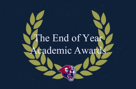 The end of the year academic awards