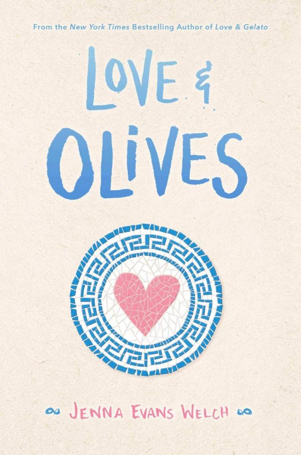%22Love+%26+Olives%22+by+Jenna+Evans+Welch+was+released+on+July+7th%2C+2020.+The+novel+tackles+the+tale+of+main+character+Olive+Varanakis+and+her+journey+to+Greece+where+she+comes+face+to+face+with+various+opportunities+she+never+expected.+%22Love+%26+Olives%22+has+a+Barnes+%26+Noble+rating+of+4.3%2F5+and+a+Goodreads+rating+of+4.1%2F5.