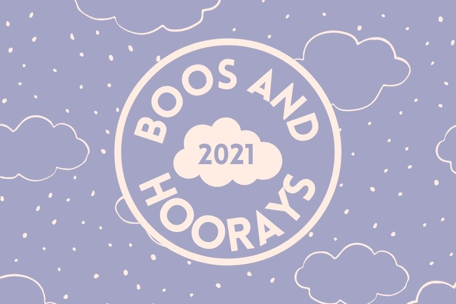 Boos+and+Hoorays+are+an+end-of-the-semester+Precedent+tradition.+This+semesters+wrap+up+includes+mask+fashion%2C+cancelled+proms%2C+and+in-person+graduation.+