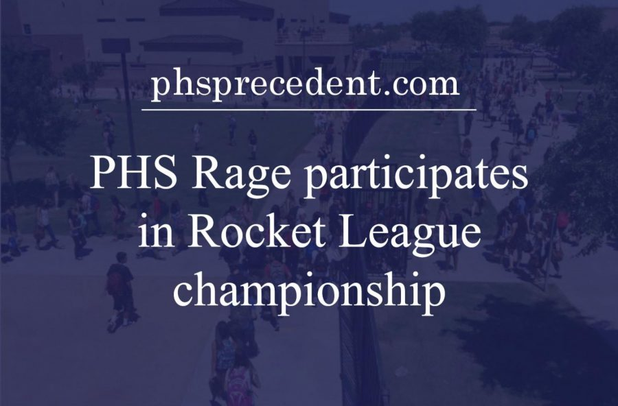 Perry's esports team, PHS Rage, will be competing in the PlayVS' Rocket League championships.