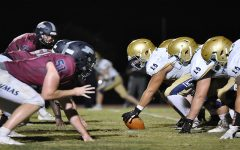 Football playing against Desert Vista on Thursday Sep.3rd. This was footballs first game of the of the year, and they won 35-28. This was also footballs first win since the 2019 season.